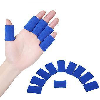 TRIXES 10 x Finger Protector Hülle Muskel Erwärmung dehnbar Unterstützung Sporthilfe