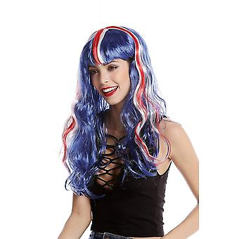 Union Jack Wear Union Jack Wig - Long & Wavy