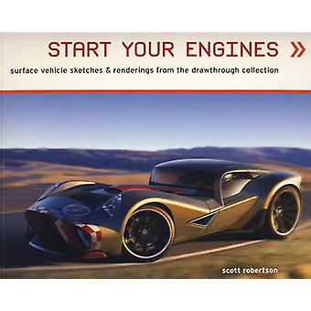 Start Your Engines by Scott Robertson - 9781848566873 Book