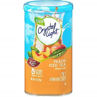 Kristal licht Peach Iced Tea Drink Mix werper Packs 2 Pack