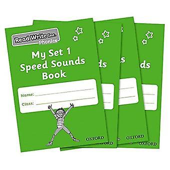 Phonics lettura scrittura Inc.: Il mio Set 1 velocità suoni prenotare confezione da 30