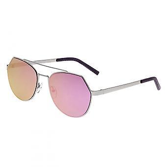 بيرثا هادلي النظارات الشمسية-الفضة/جاكيت