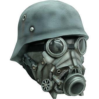 Chemical Warfare Ad Latex Mask For Halloween