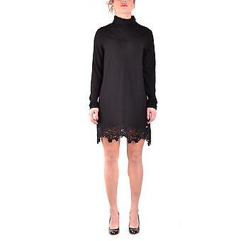 Liu Jo Ezbc086031 Women's Black Modal Dress