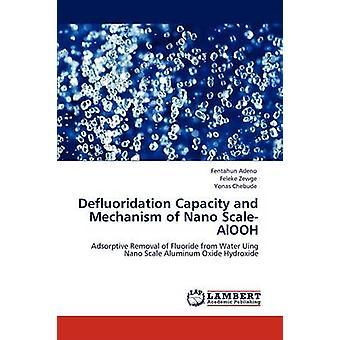 Defluoridation 容量とアデノ ・ Fentahun によるナノ ScaleAlOOH の機構