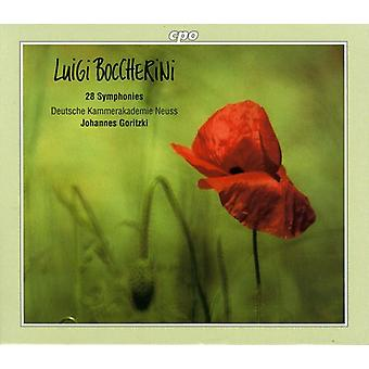 L. Boccherini - Boccherini: 28 importer des Symphonies [CD] é.-u.