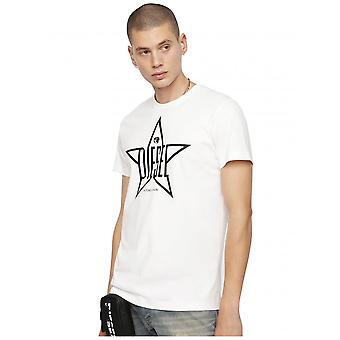 Diesel T-Diego YH T-skjorte-hvit