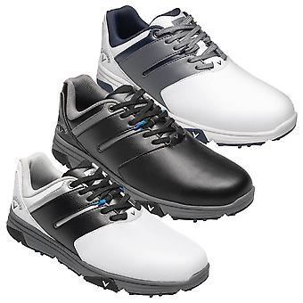 Callaway Golf Mens Chev Mission Spiked Waterproof Leather Golf Shoes