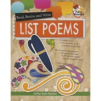 List Poems by JoAnn Early Macken - 9780778719694 Book