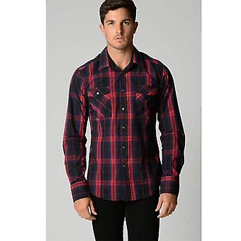 Deacon Stockwell à manches longues Check shirt