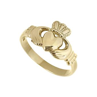 14K Gold Ladies Claddagh Ring by Fallers of Galway