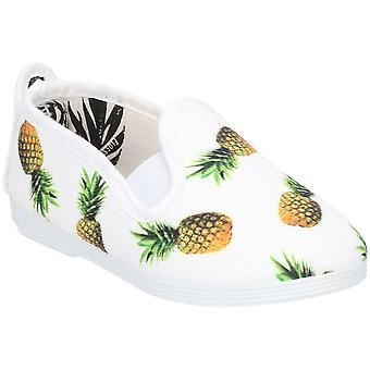Flossy Girls Junior Frassy Slip On Graphic Summer Shoes