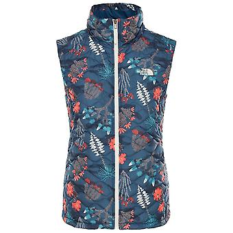 Den norra Face Blue Wing Womens Thermoball Vest