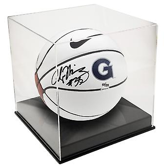 OnDisplay Deluxe con protezione UV basket/Soccer Ball display caso-nero base