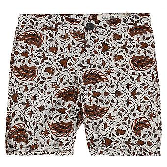 Religion Mens Clothing Floral Shorts