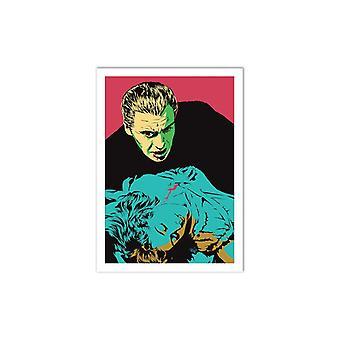 Art-Poster - Terrifying Lover - Vee Ladwa