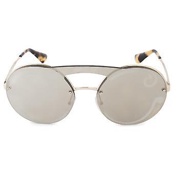 Prada Cinema evolution enkele lens ronde zonnebril PR65TS ZVNODW 36