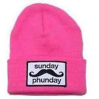 Team phun sunday phunday beanie pink