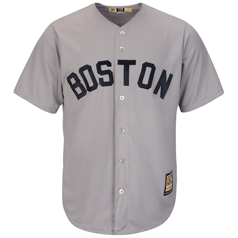 Majestic Athletic Mlb Boston Red Sox Cooperstown Cool Base Jersey