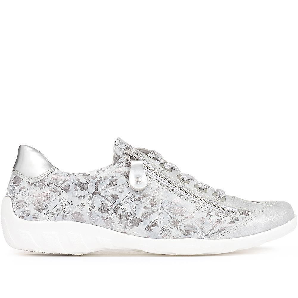 Casual leather trainer - drs