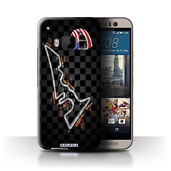 STUFF4 Case/Cover for HTC One/1 M9/USA/Austin/2014 F1 Track