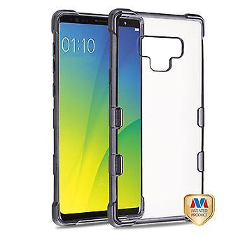 MYBAT Gun Metal Plating TUFF Klarity Candy Skin Cover  for Galaxy Note 9