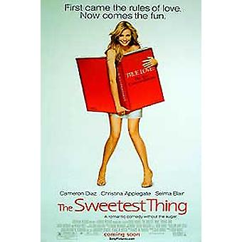 The Sweetest Thing (Single Sided) (Uv Coated/High Gloss) Original Cinema Poster