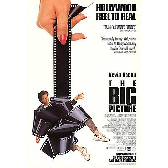 Big Picture (Single Sided Video) (1989) Oryginalny plakat wideo