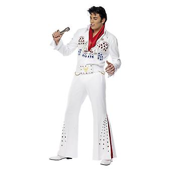 Mens Elvis American Eagle Fancy Dress Costume