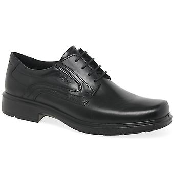 ECCO Kapyla lederen Mens Smart schoenen