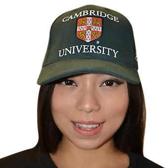 Licenseret Cambridge University™ baseball cap Bottle grøn farve