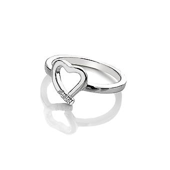 Hot Diamonds Amore Hearts Ring DR194