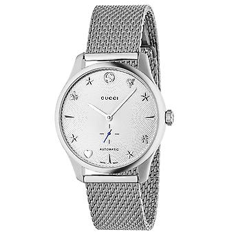 Gucci Men's G-Timeless White MOP Dial Watch - YA126330