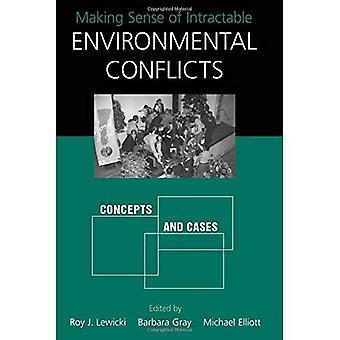 Making Sense of insolubles conflits environnementaux: Concepts et cas