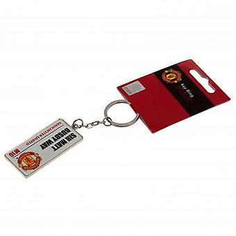 Manchester United FC Road Sign Keyring