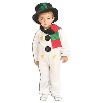 Bristol Novelty Toddlers Snowman Costume