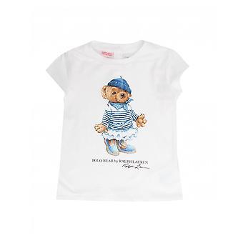 Polo Ralph Lauren Abbigliamento Orso Logo Tshirt stampata