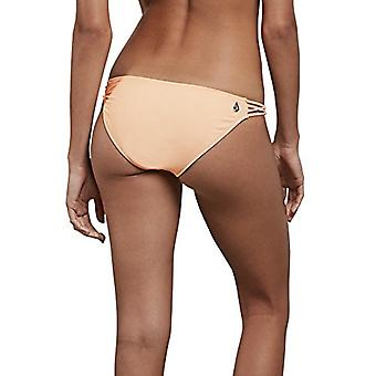 Volcom Junior ' s simpelthen solid fuld bikini bund, bleg fersken, XS