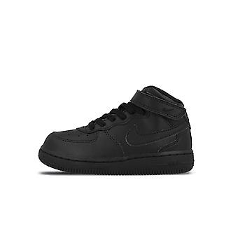 Modo baloncesto Nike Air Force 1 Mid (PS) Black