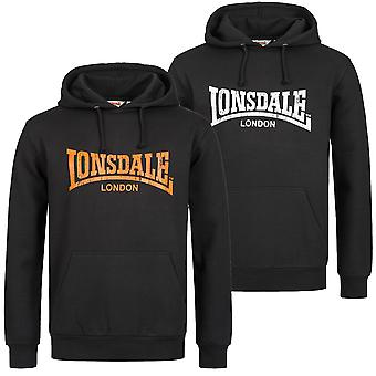 Lonsdale mens hooded sweater Wolterton