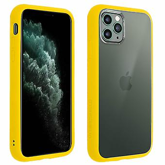 Apple iPhone 11 Pro Max Case, Changable Bumper + Rear, Yellow, Rhinoshield