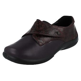 Ladies Padders Dual Fit Shoes Viola