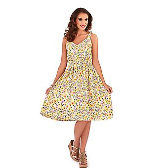 Pistachio Women's Floral Print Pretty Summer Dress