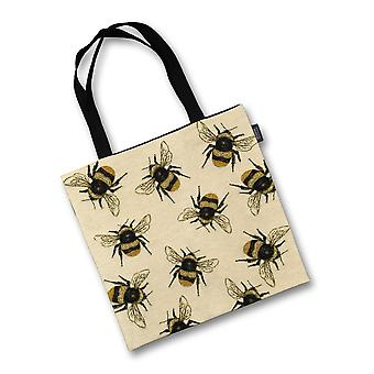 Mcalister textiles bumble bees tapestry tote bag