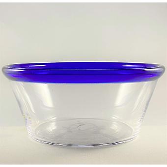 Bergdalshyttan-blå RIM-Deep plate/Filbunke design