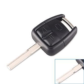 3 buttons car key replacement shell Opel HU43 blade
