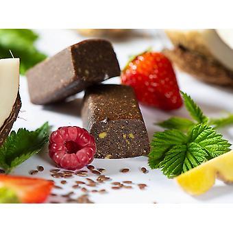 Swiss-QUBE Diet Bar - Controle de Peso | Perder peso sem fome em uma base natural | Prove Robo Bio e Vegan | 70 Suíço-Qubes - Ração semanal
