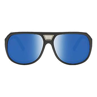 Electric California Stacker Sunglasses - Matte Black/Polarized Blue