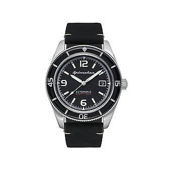 Spinnaker - Wristwatch - Men - Fleuss cuir - SP-5055-02 - Noir