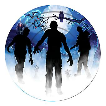 Zombie Plate Large (8pc)